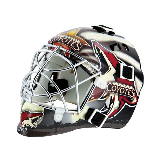 Franklin NHL Team Series Arizona Coyotes Mini Goalie Mask