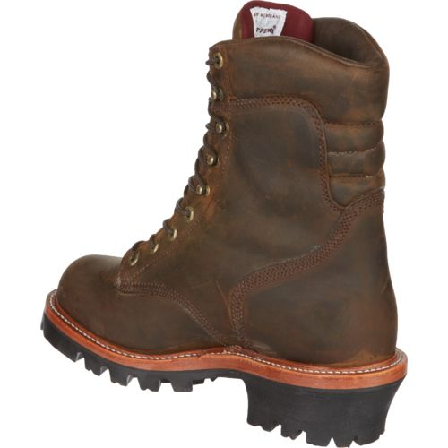 Chippewa Boots Men's Bay Apache Super Logger Waterproof Insulated Rugged Outdoor Boots - view number 3