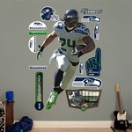 Fathead Seattle Seahawks Marshawn Lynch Running Back Real Big Wall Decal