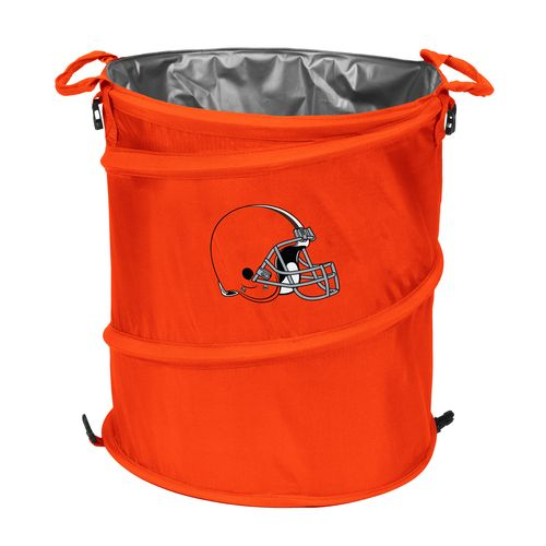 Logo™ Cleveland Browns Collapsible 3-in-1 Cooler/Hamper/Wastebasket
