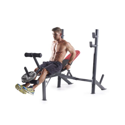 Weider Pro 345 Mid Width Weight Bench - view number 2