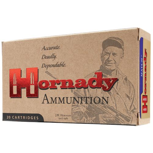 Hornady Match BTHP Centerfire Rifle Ammunition - view number 1