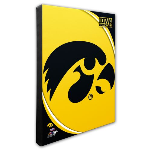 Photo File University of Iowa Logo Stretched Canvas
