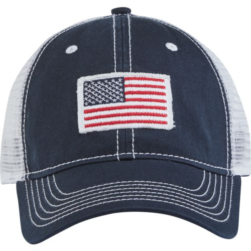 Academy Sports Outdoors Men S American Flag Trucker Hat