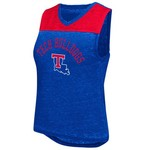 Colosseum Athletics Women's Louisiana Tech University Kiss Cam Tank Top