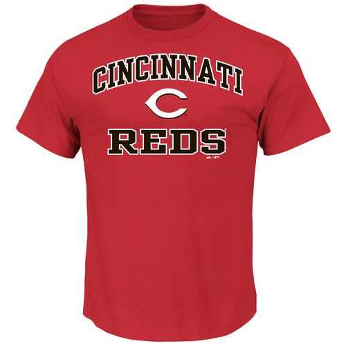 Majestic Men's Cincinnati Reds Heart and Soul T-shirt