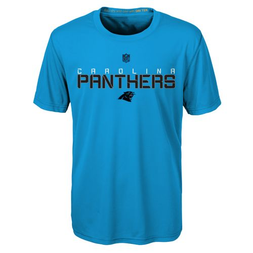 NFL Boys' Carolina Panthers Dri-Tek Maximal T-shirt - view number 1