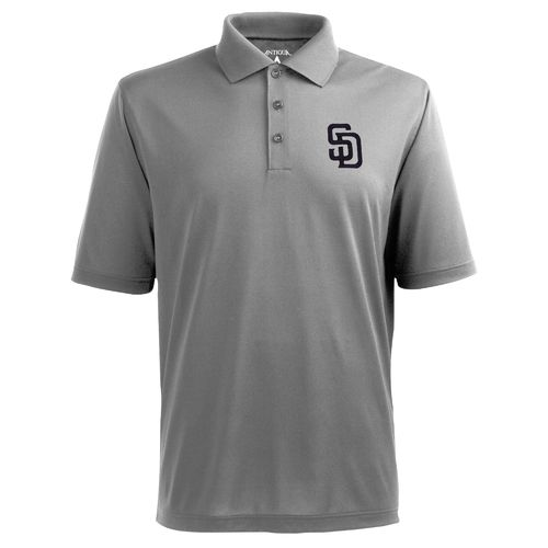 Antigua Men's San Diego Padres Piqué Xtra-Lite Polo Shirt - view number 1