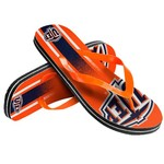 Forever Collectibles™ Adults' University of Texas at El Paso Gradient Big Logo Flip-Flops