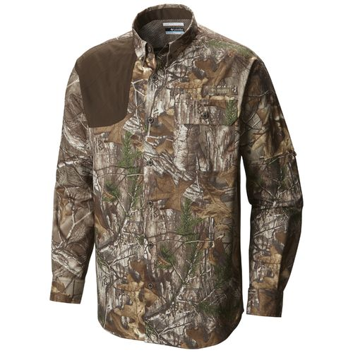 Columbia Sportswear Men's Stealth Shot™ III Blood 'N Guts™ Long Sleeve Woven Shirt