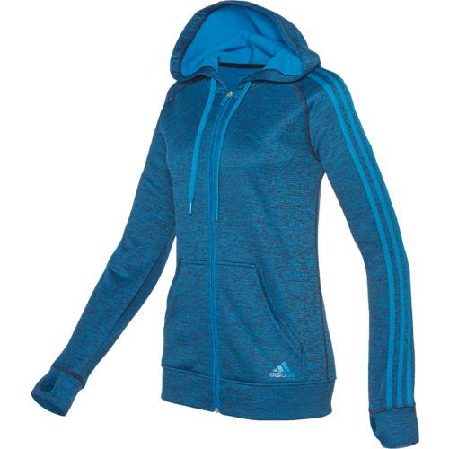 adidas Women's Team Issue 3-Stripes Full Zip Hoodie