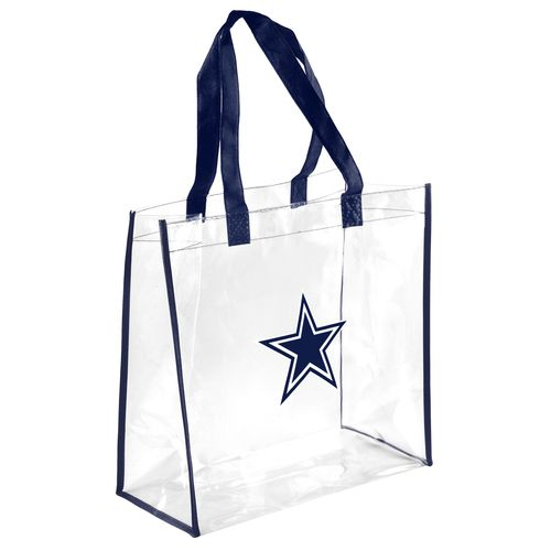 Team Beans Dallas Cowboys Clear Reusable Bag