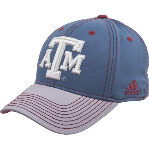 adidas Men's Texas A&M University 2-Tone Flex Cap