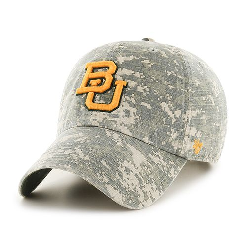 '47 Baylor University Officer Camo Clean-Up Cap