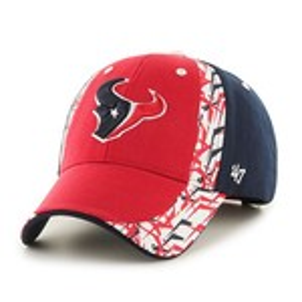 '47 Houston Texans Side Cut Cap