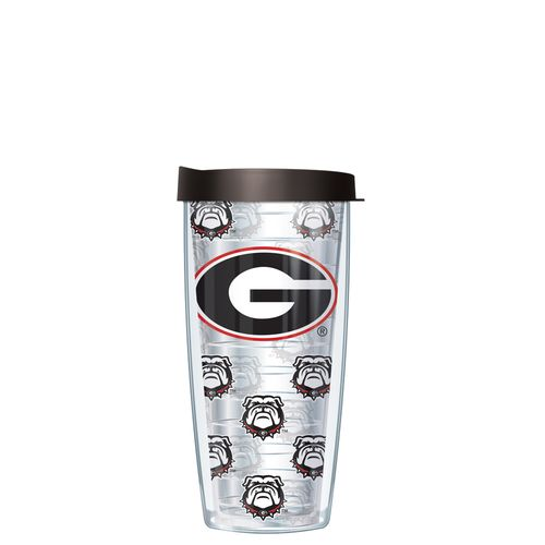 Signature Tumblers University of Georgia Super Traveler 16 oz. Thermal Insulated Tumbler