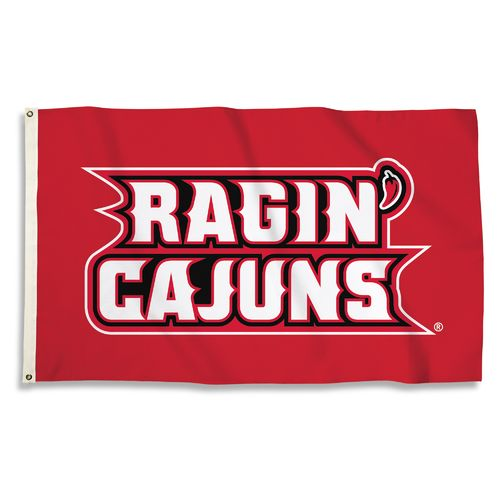 BSI University of Louisiana at Lafayette 3'H x 5'W Flag