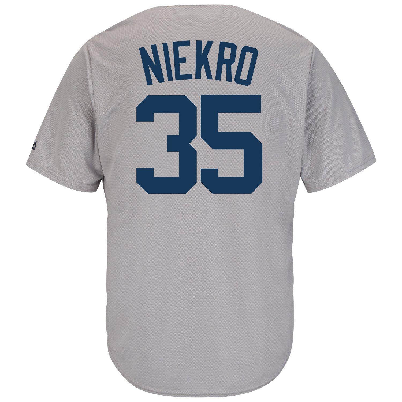 Majestic Men's New York Yankees Phil Niekro #35 Cool Base Cooperstown Jersey