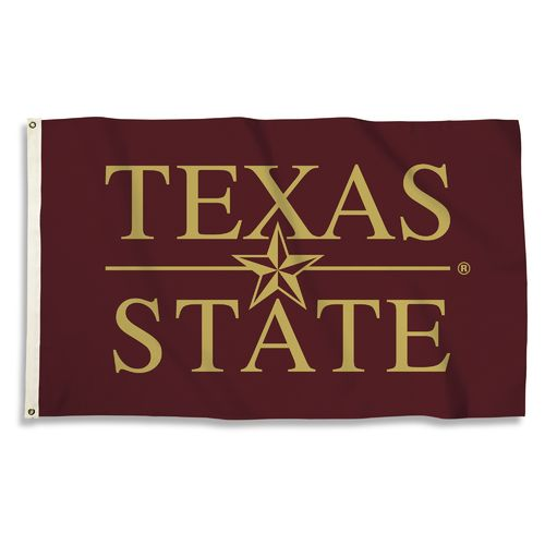 BSI Texas State University 3'H x 5'W Flag - view number 1