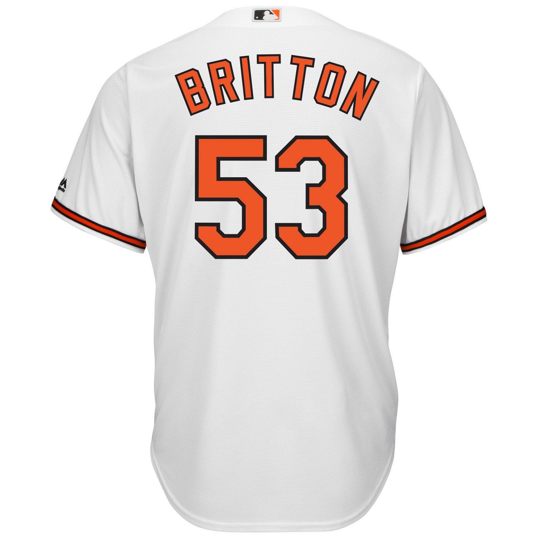 08ef740d4 ... Majestic Mens Baltimore Orioles Zach Britton 53 Cool Base® Replica Jersey  Baltimore Orioles Zach Britton Youth White Home 2017 Flex ...