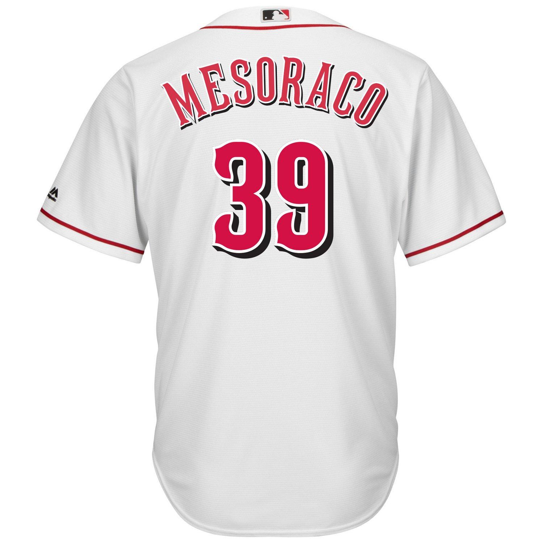 Majestic Men's Cincinnati Reds Devin Mesoraco #39 Cool Base Replica Jersey
