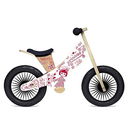 Kinderfeets Kids' Retro Princess Balance Bicycle