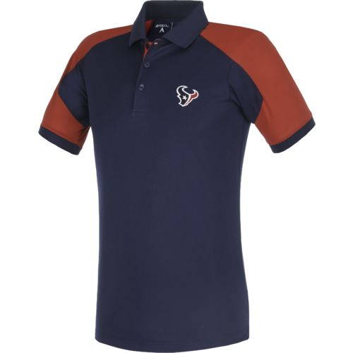 Antigua Men's Houston Texans Century Polo Shirt