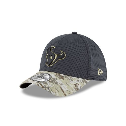 New Era Men's Houston Texans Salute to Service 39THIRTY Cap