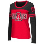 Colosseum Athletics™ Women's Arkansas State University Hornet Football Long Sleeve Shirt