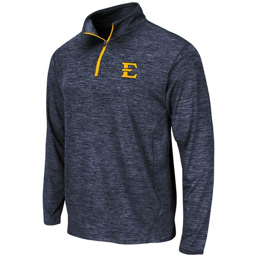 Colosseum Athletics™ Men's East Tennessee State University Action Pass Long Sleeve 1/4 Zip