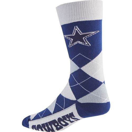 For Bare Feet Unisex Dallas Cowboys Team Pride Flag Top Dress Socks - view number 2