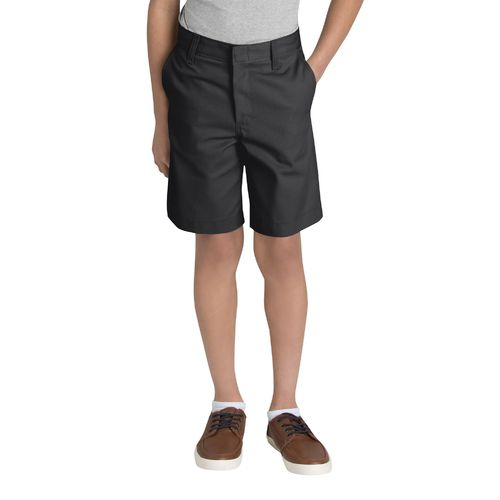 Dickies Boys' Flat Front Husky Uniform Short - view number 1