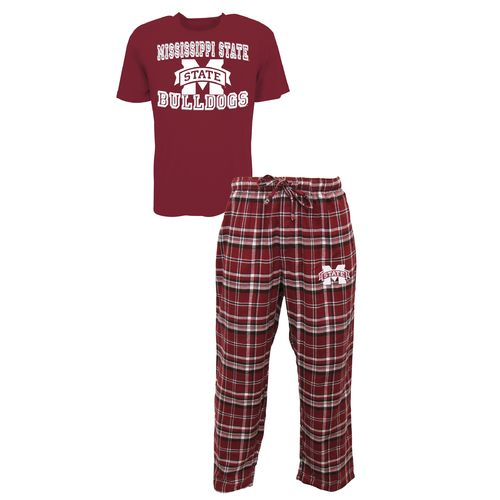 Concepts Sport™ Men's Mississippi State University Tiebreaker Shirt and Pant Set