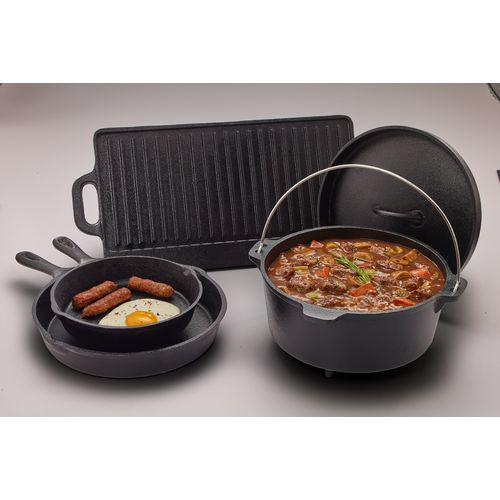 Outdoor Gourmet 5-Piece Cast-Iron Cookware Set - view number 10