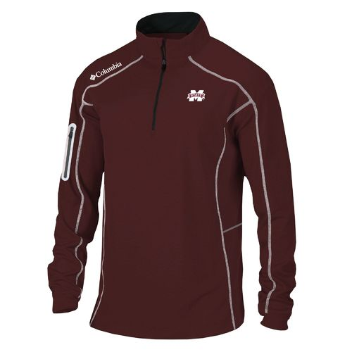 Columbia Sportswear Men's Mississippi State University Shotgun 1/4 Zip Pullover