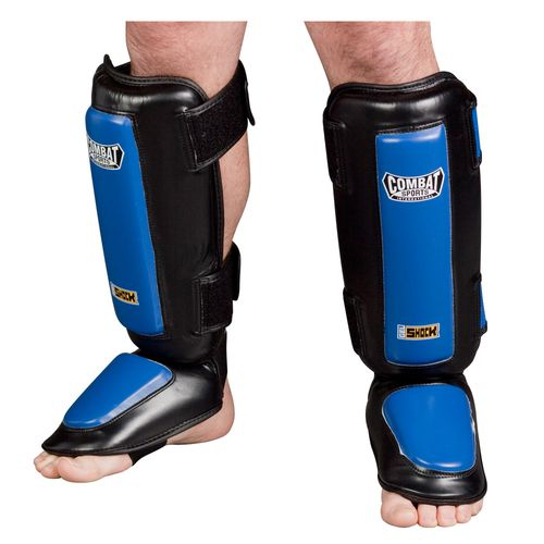 Combat Sports International Adults' Kickboxing Gel Shock™ Shin Guards