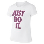Nike Girls' Breathe Just Do It T-shirt - view number 1