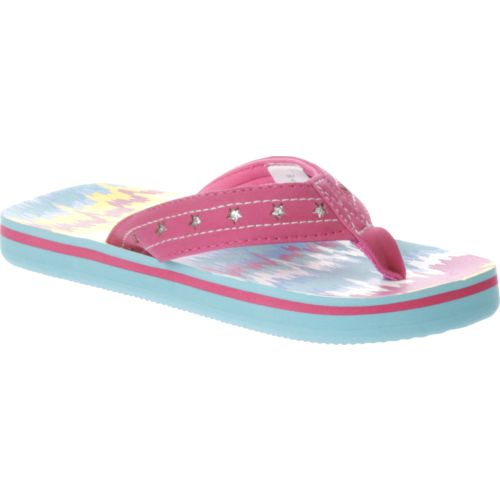 O'Rageous Girls' Wave Flip-Flops - view number 2