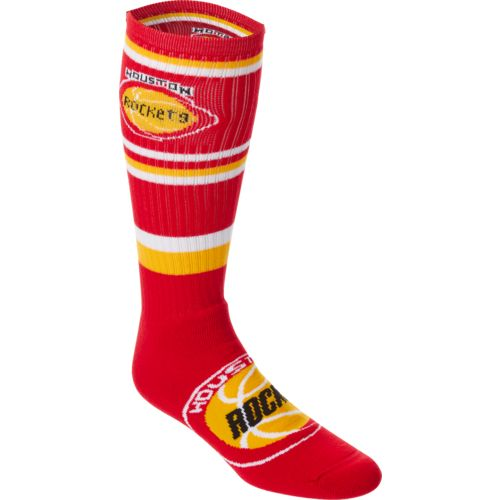 FBF Originals Adults' Houston Rockets Squad Stripe Tube Socks