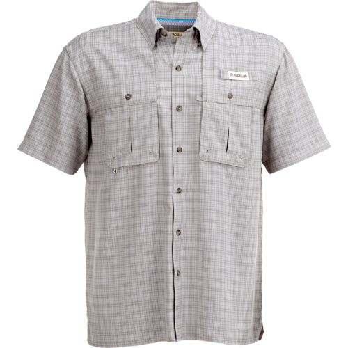 Magellan Outdoors Men's Aransas Pass Tonal Plaid Short Sleeve Shirt - view number 1