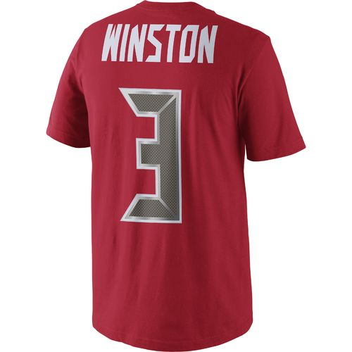 Nike Men's Tampa Bay Buccaneers Jameis Winston 3 Player Pride Name and Number XC2 T-shirt