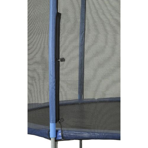 Upper Bounce® Replacement Trampoline Enclosure Net for 12' Round Frames with 4 Straight Pol - view number 3