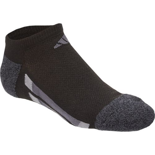 adidas™ Boys' Vertical Stripe No-Show Socks 6 Pairs