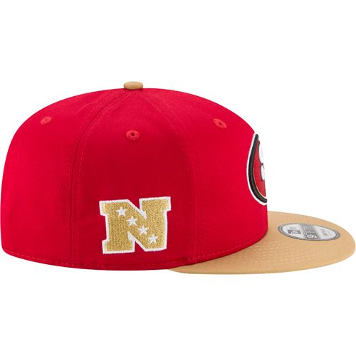 New Era Men's San Francisco 49ers 9FIFTY Baycik Snapback Cap - view number 5