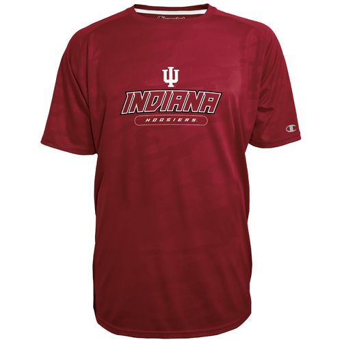 Champion™ Men's Indiana University Impact Embossed T-shirt - view number 1