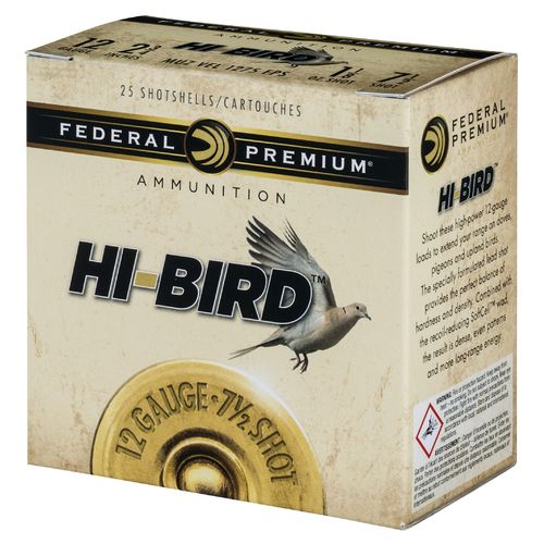 Federal Premium Hi-Bird 12 Gauge Shotshells