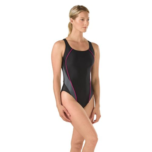 Speedo Women's Interference Glow Flyback Competitive Swimsuit