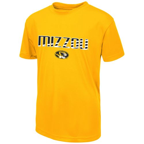 Colosseum Athletics Boys' University of Missouri Team Stripe T-shirt