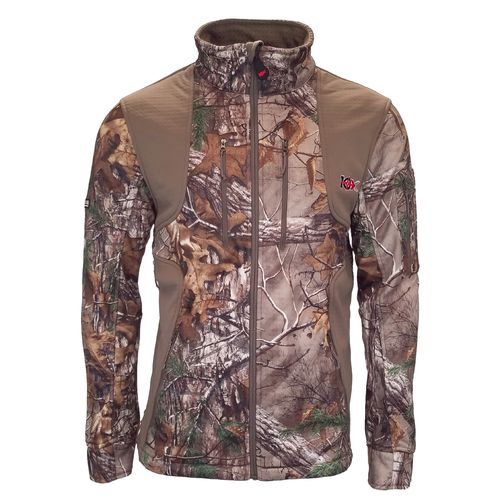 10X Men's Scentrex Lockdown Softshell Camo Jacket