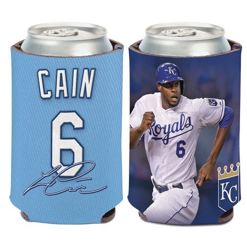 WinCraft Kansas City Royals Lorenzo Cain 6 Can Cooler